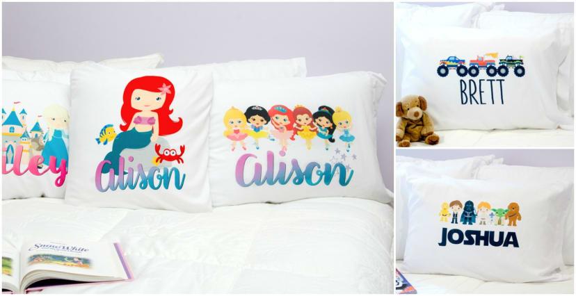 Rapunzel personalized pillowcases