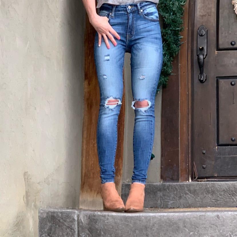 High Waisted Kancan Jeans Jane