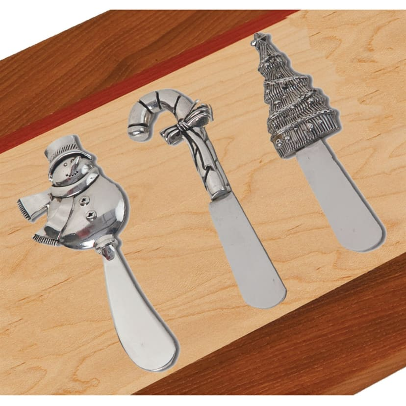 Holiday Spreaders Set of 3