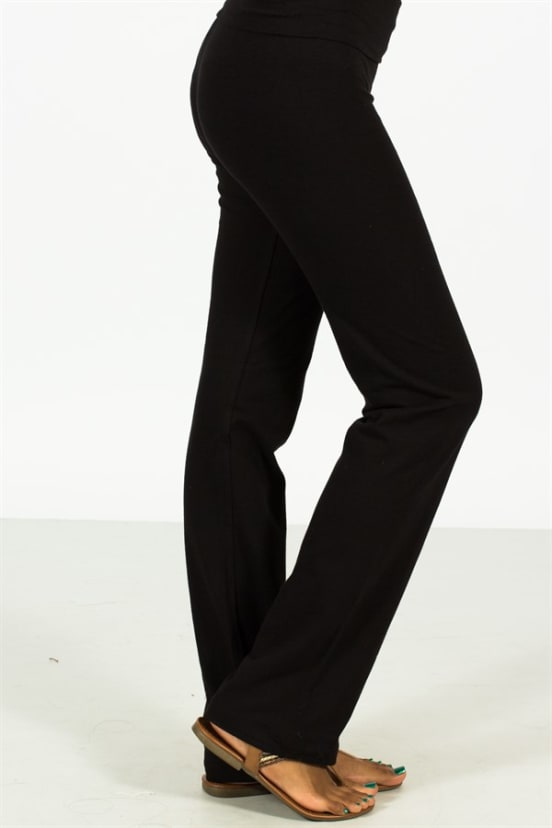 preview of boy baby Thick Fold Over Yoga Pants | 5 Colors | S-L