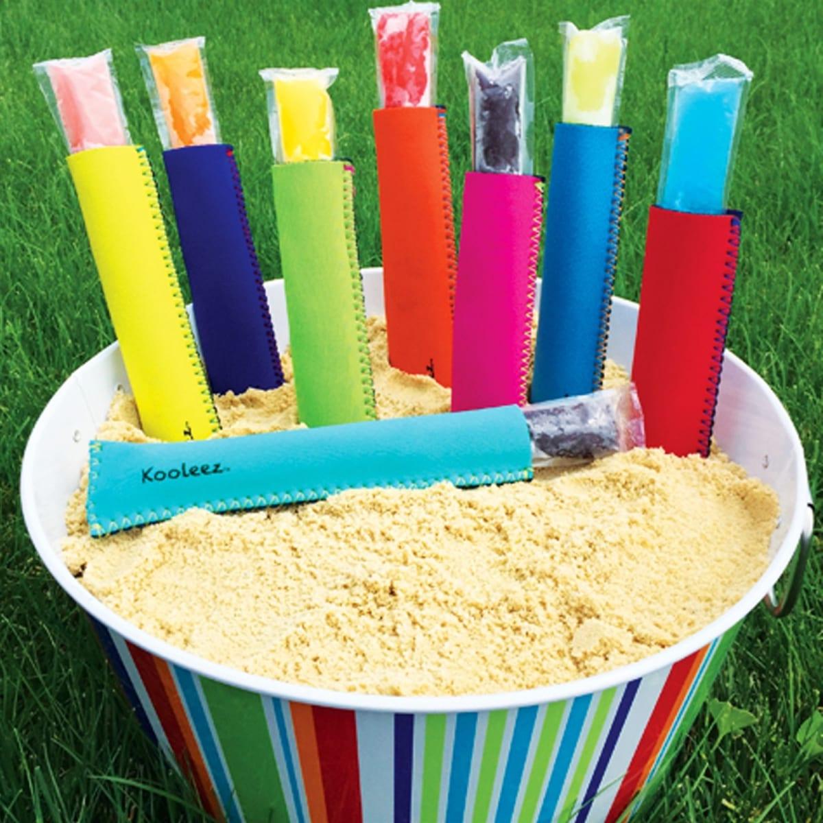 Kooleez Ice Pop Sleeves   8 Pack