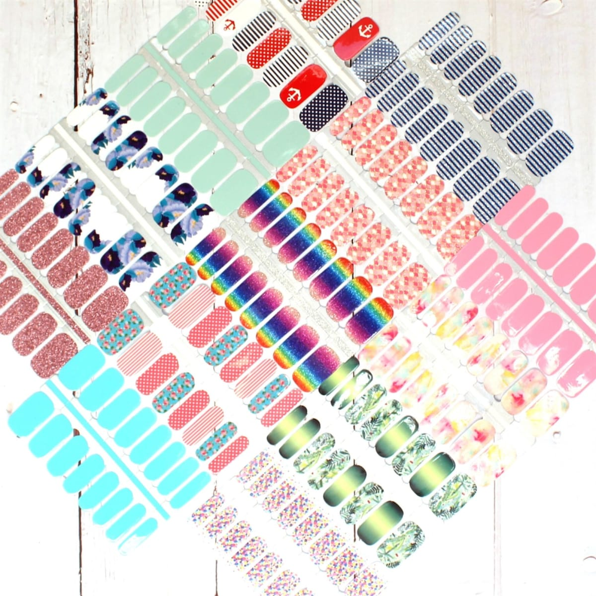 Summer Nail Wraps | 80+ Designs