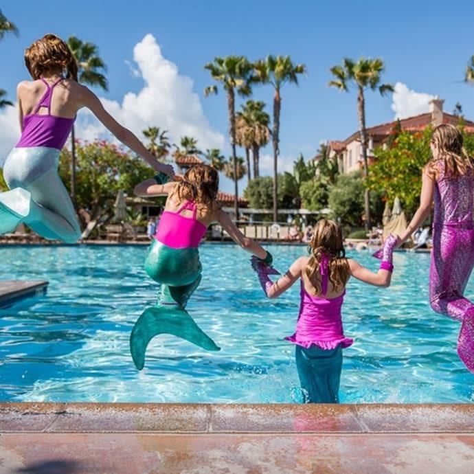 Mermaid Swimming Tail