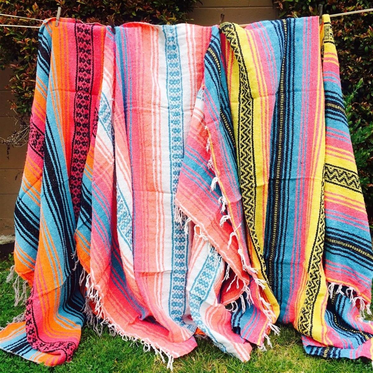 $30.99 (reg $60) Soft Mexican Blankets | BOGO FREE