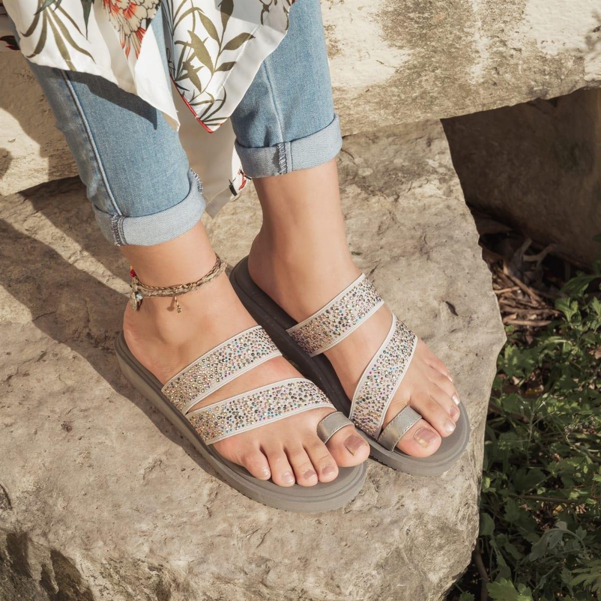MUK LUKS® Women's Callie Wedge Sandals