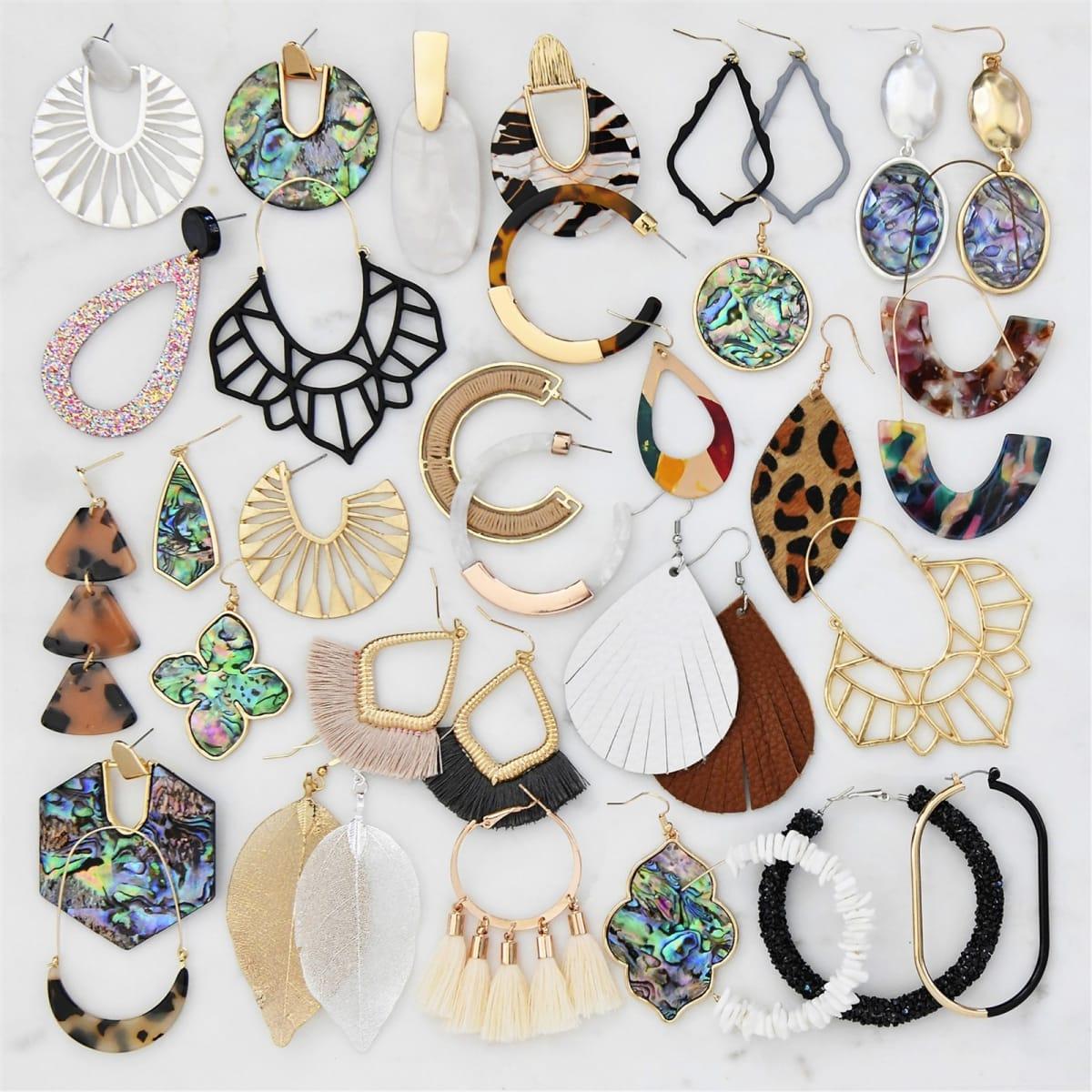 Modish Earrings-  JANE  OVER 50% OFF!
