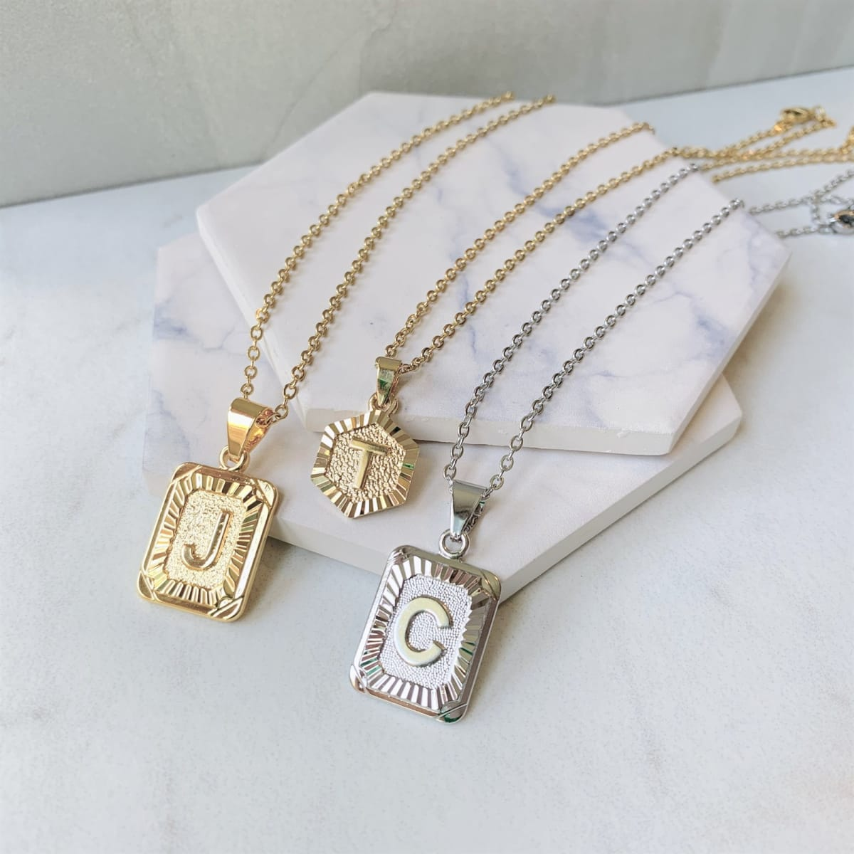 Initial Necklace Collection