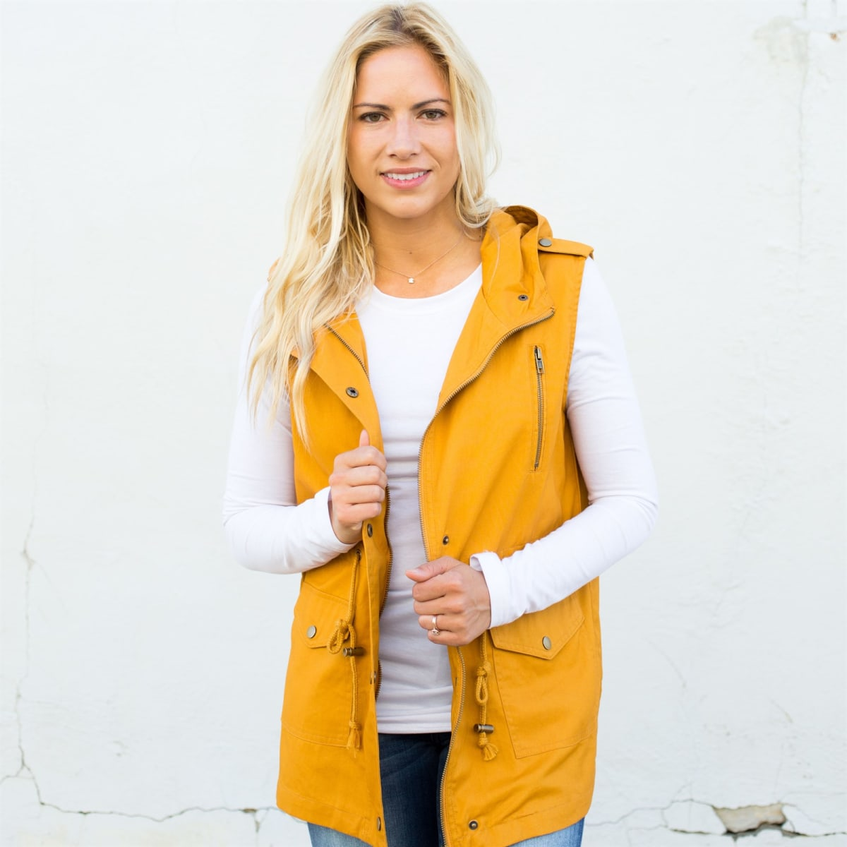 Extra Long Vest | 10 Colors