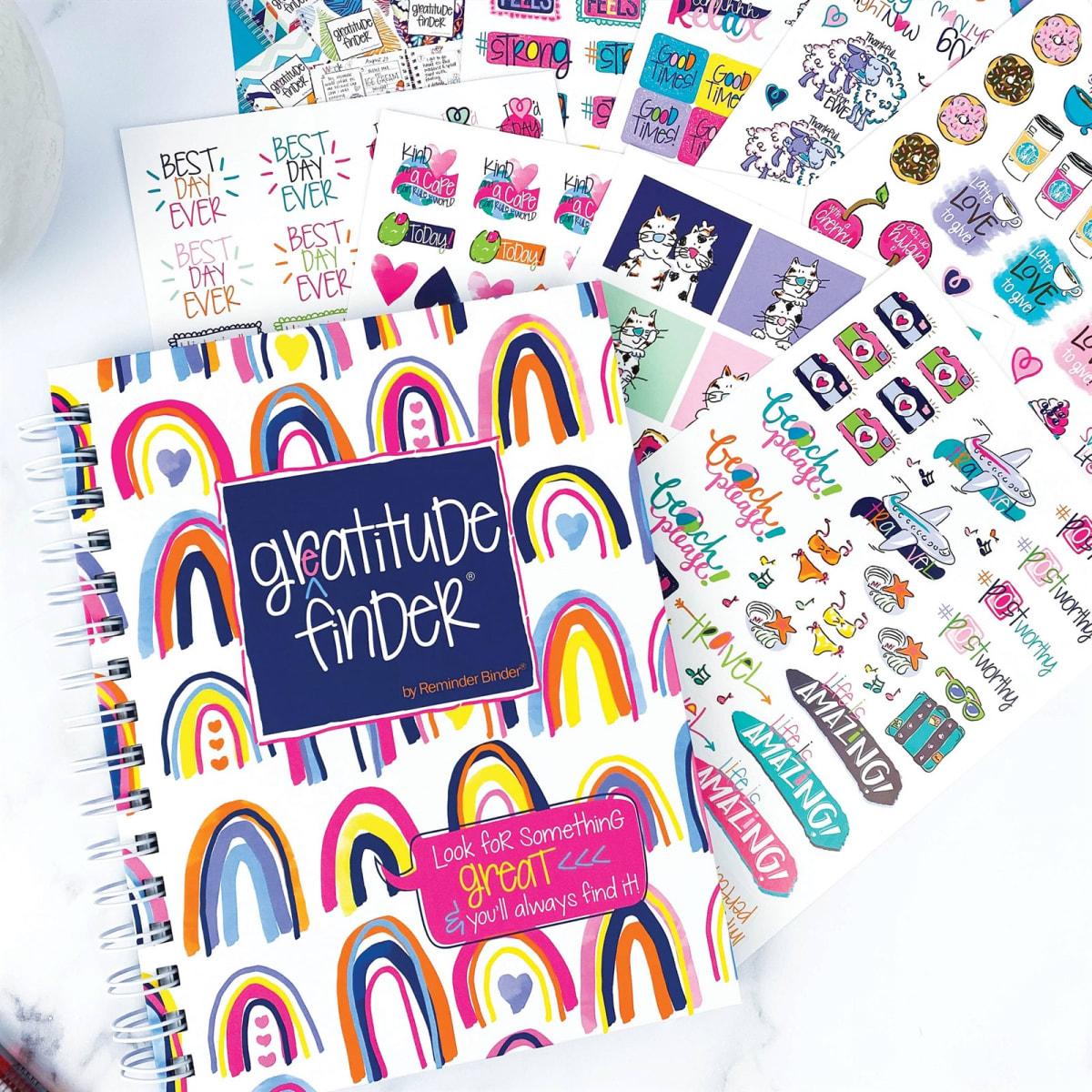Gratitude Gift Set | Journal + Stickers