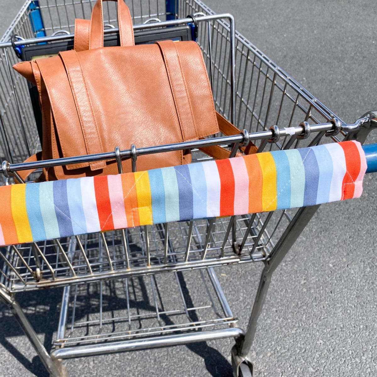 Magnetic Closure Shopping Cart Cover