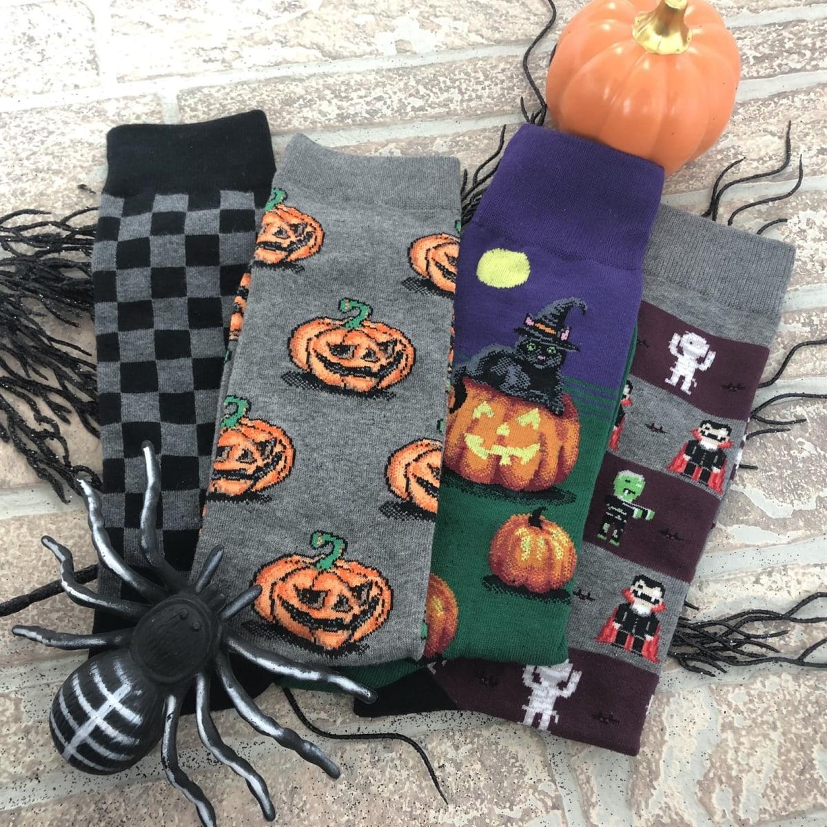 $6.99 (reg $19) Spooky Halloween Socks