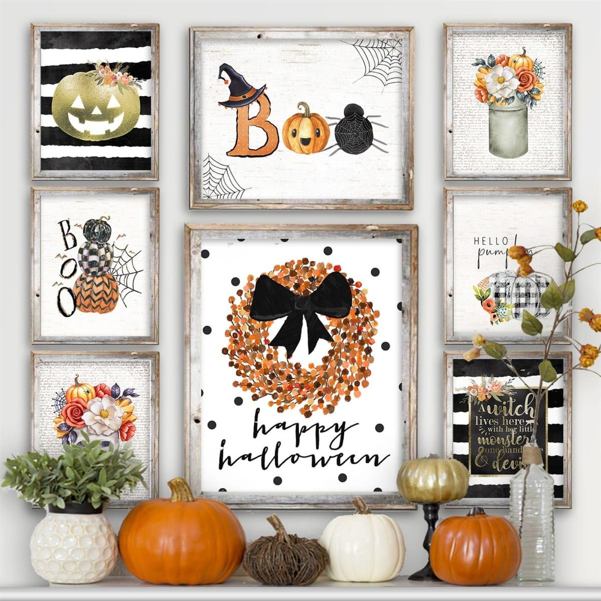 Lg. Halloween Art Prints