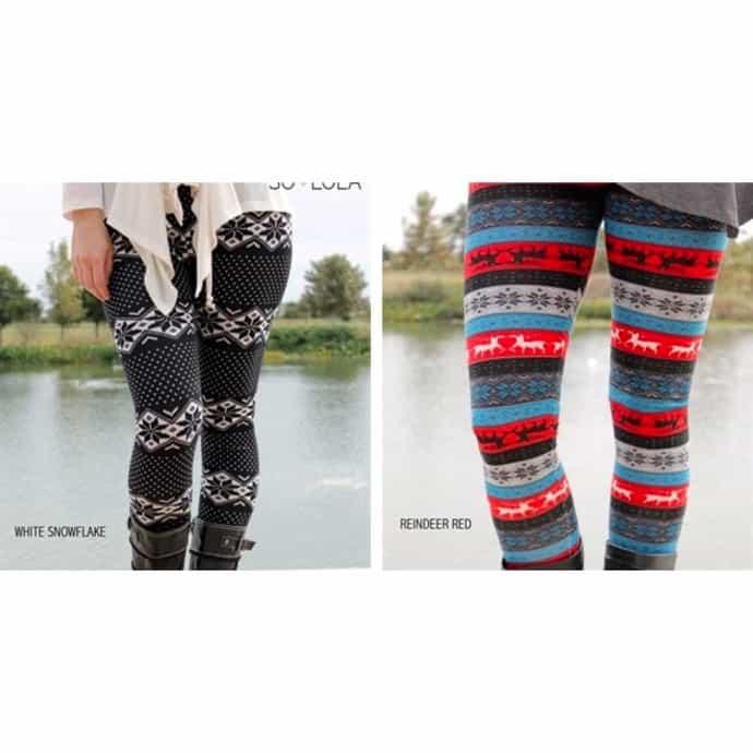 1bc93c682becaa Winter-Themed Sweater Leggings! Standard & Plus Options! | Jane