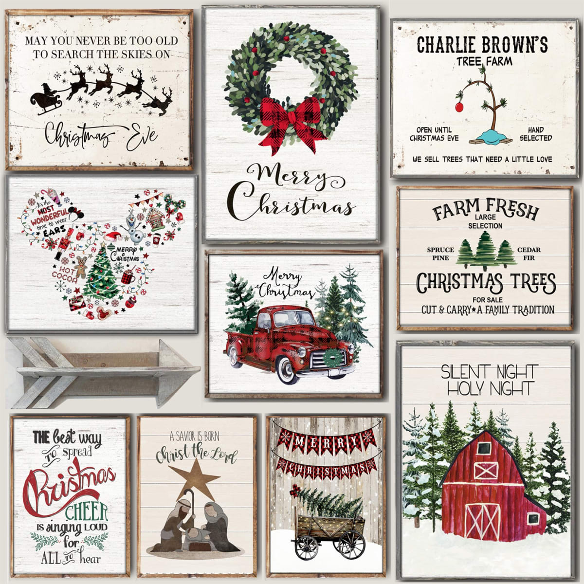 Lg. Cozy Christmas Art Prints