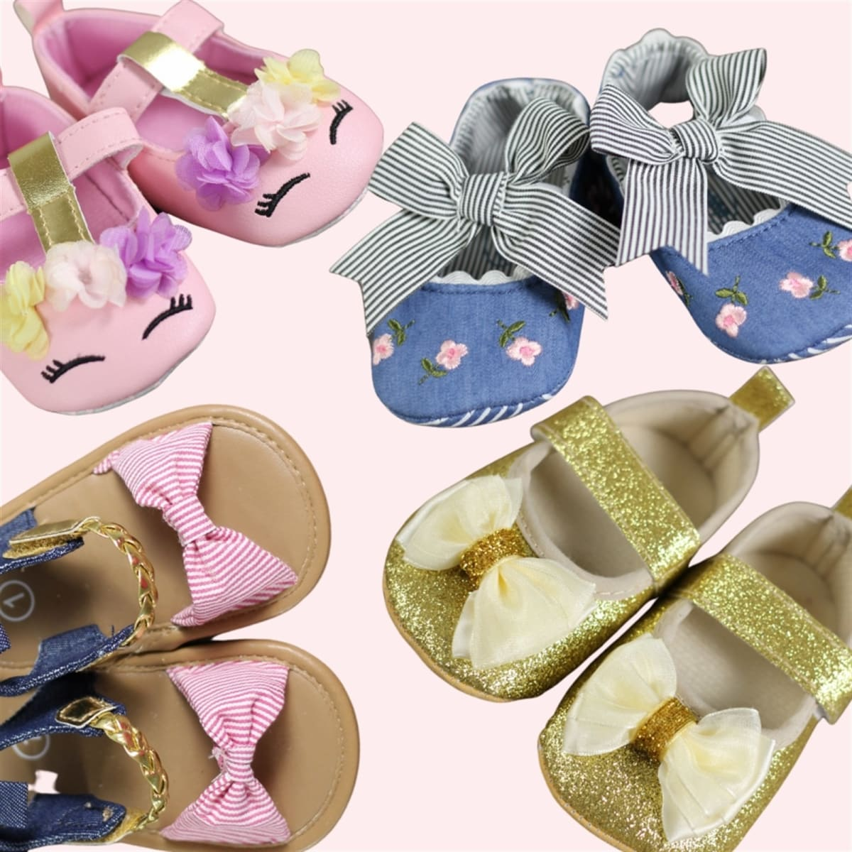Baby and Toddler Shoes- HOW DARN CUTE?! 45% OFF!