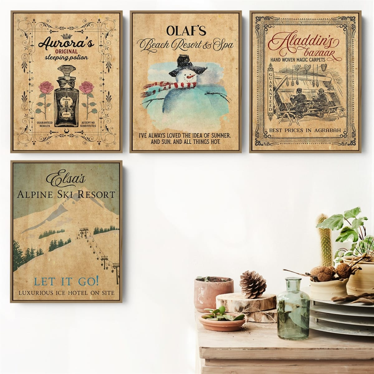 Vintage Fairy Tale Art Prints | 5 Sizes