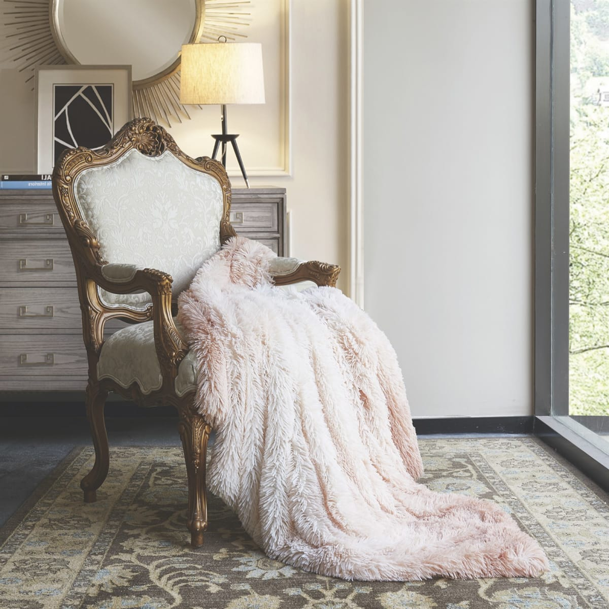 Ombre Faux Fur Luxury Throws- .00! Regularly .99 FREE SHIPPING!
