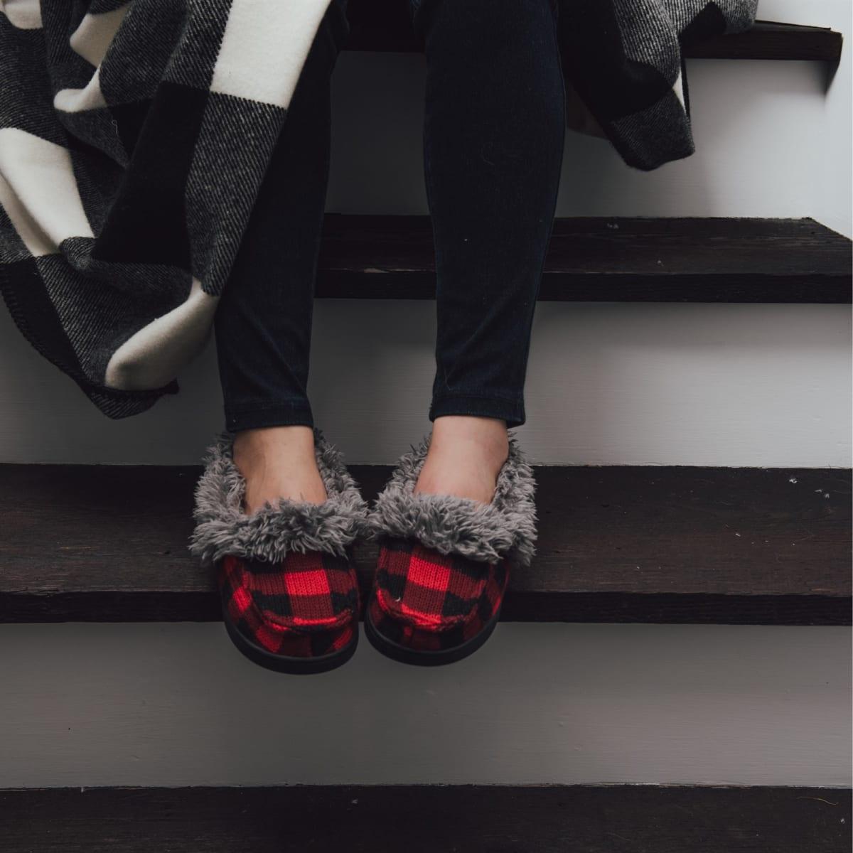 MUK LUKS® Anais Moccasin Slippers