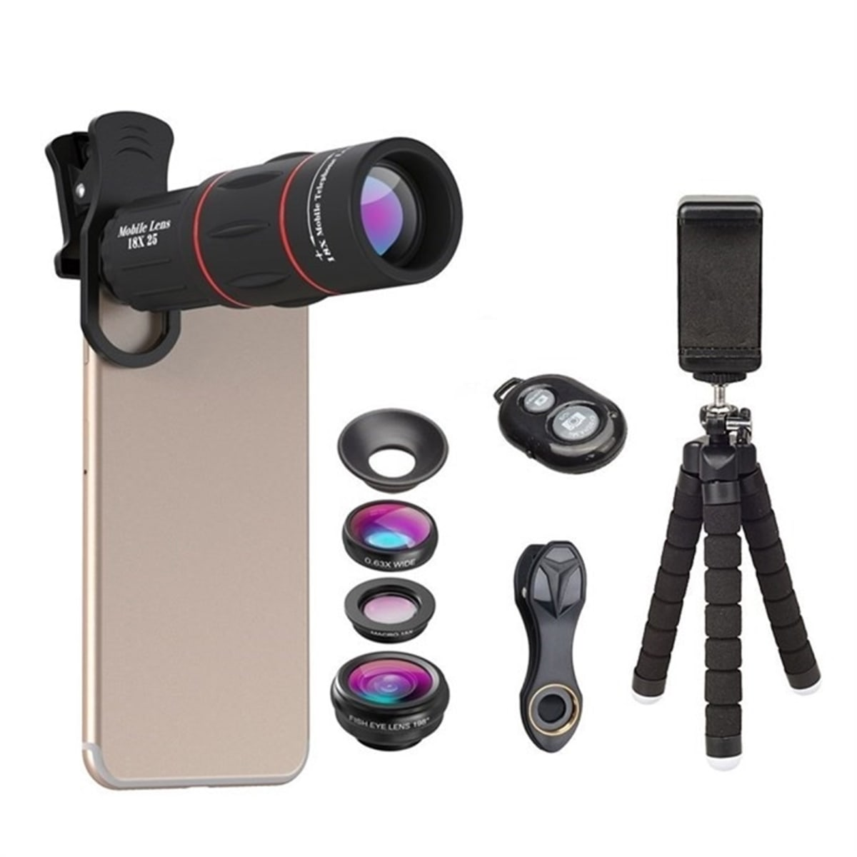 $22.99 (reg $50) Phone Photo Kit w/ Universal Tripod