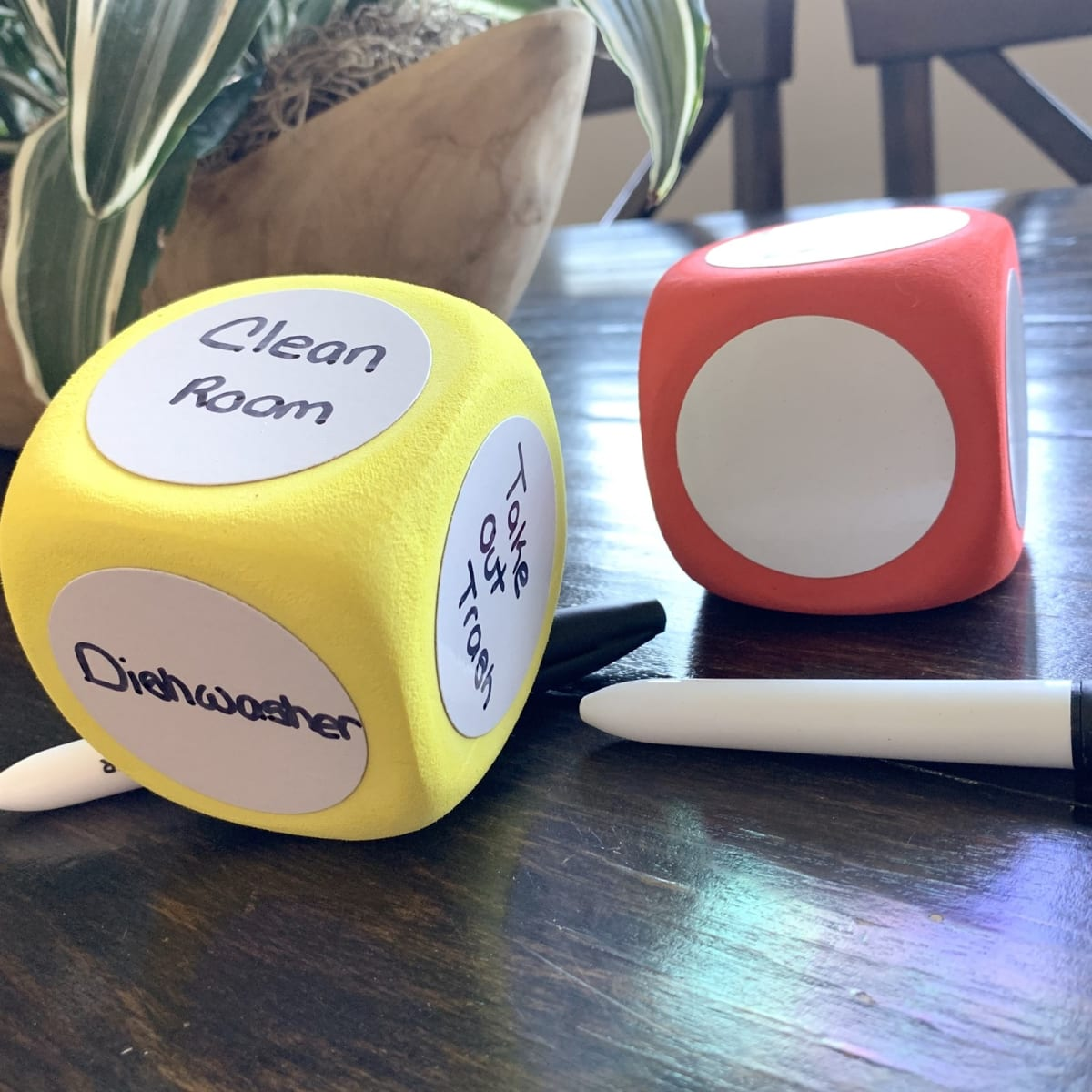 Chore or Education Dice with Pen