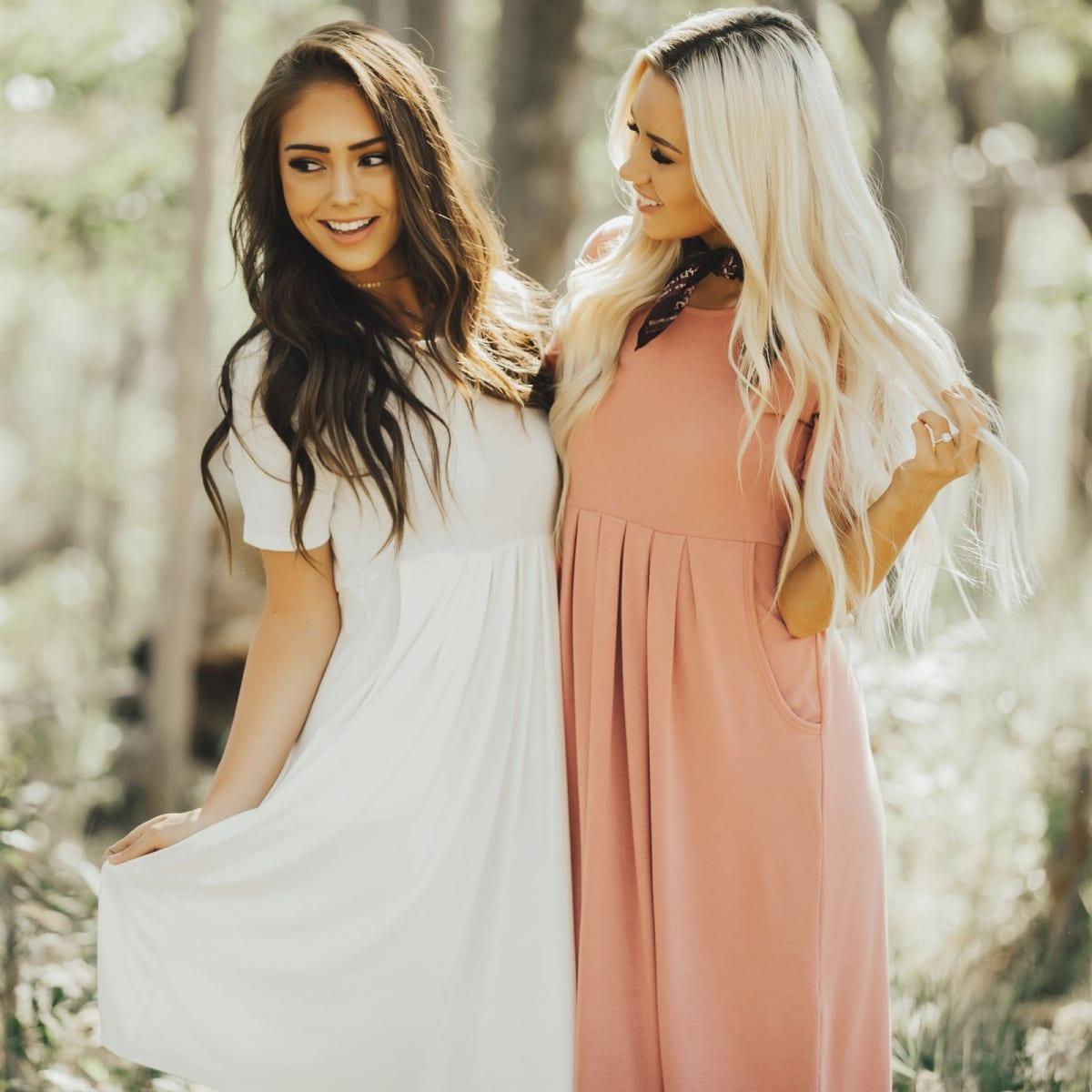 Pretty in Pleats Dress | S-3XL