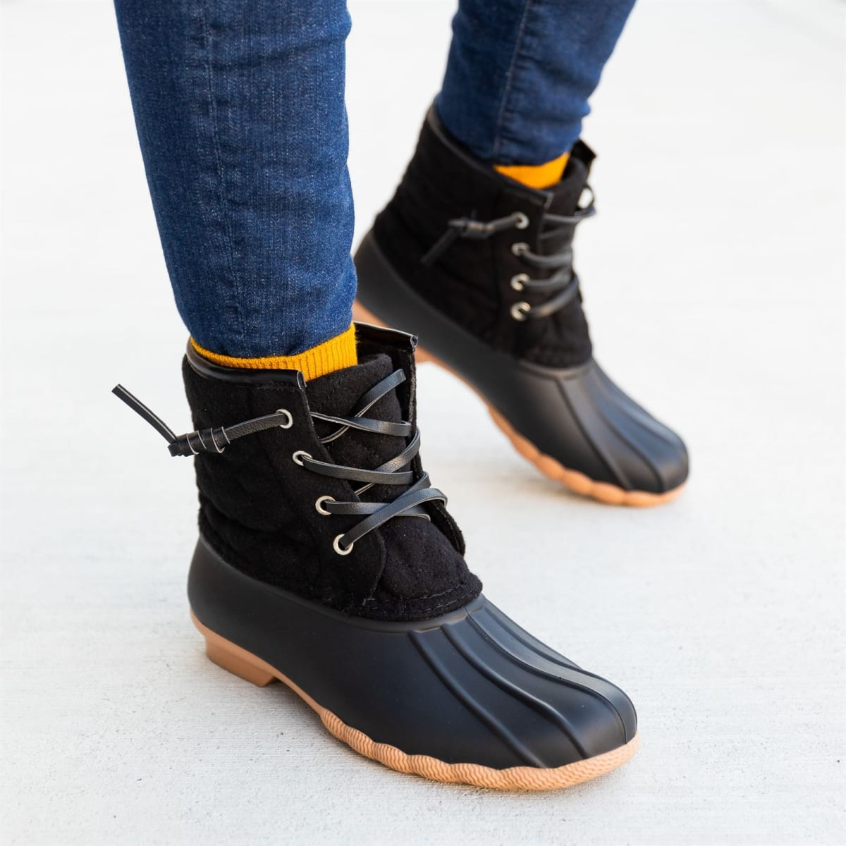 Comfy Chic Quilted Duck Boots – Only .99!