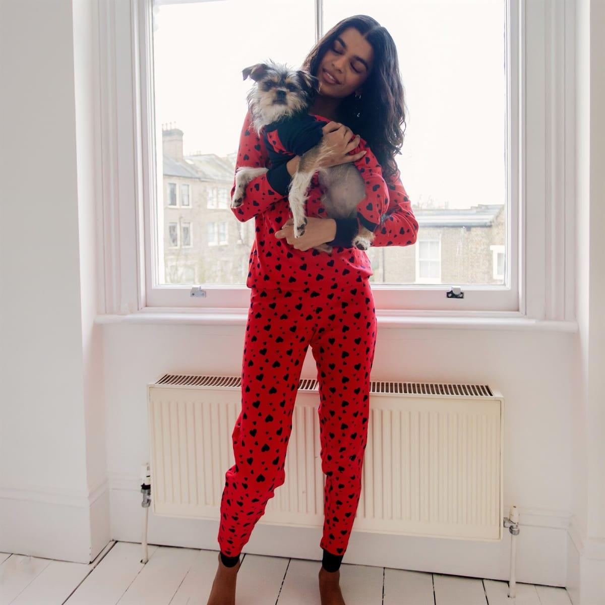 Doggy and Me Cotton Pajamas