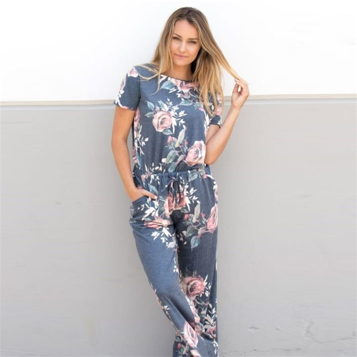 Key Hole Jumpsuit