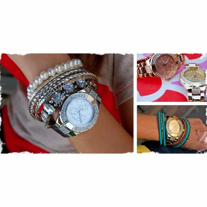 3b4b1c3ac52806 Beautiful Designer Inspired Watches - Similar to Michael Kors in Gold,  Silver and Rose Gold!