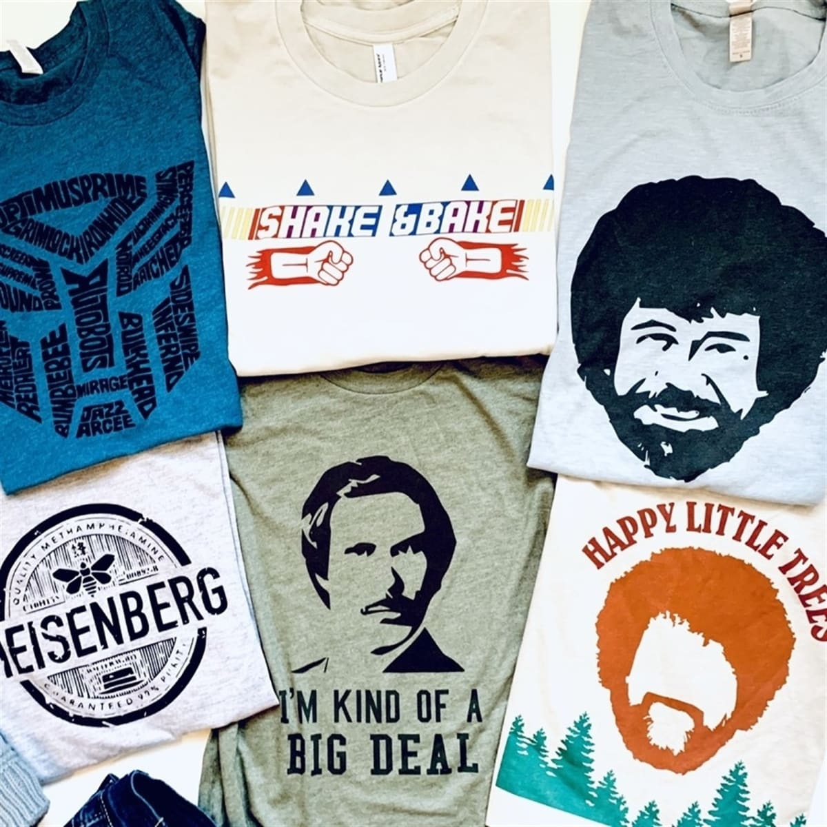 Fave TV and Movie Inspired TV Tees