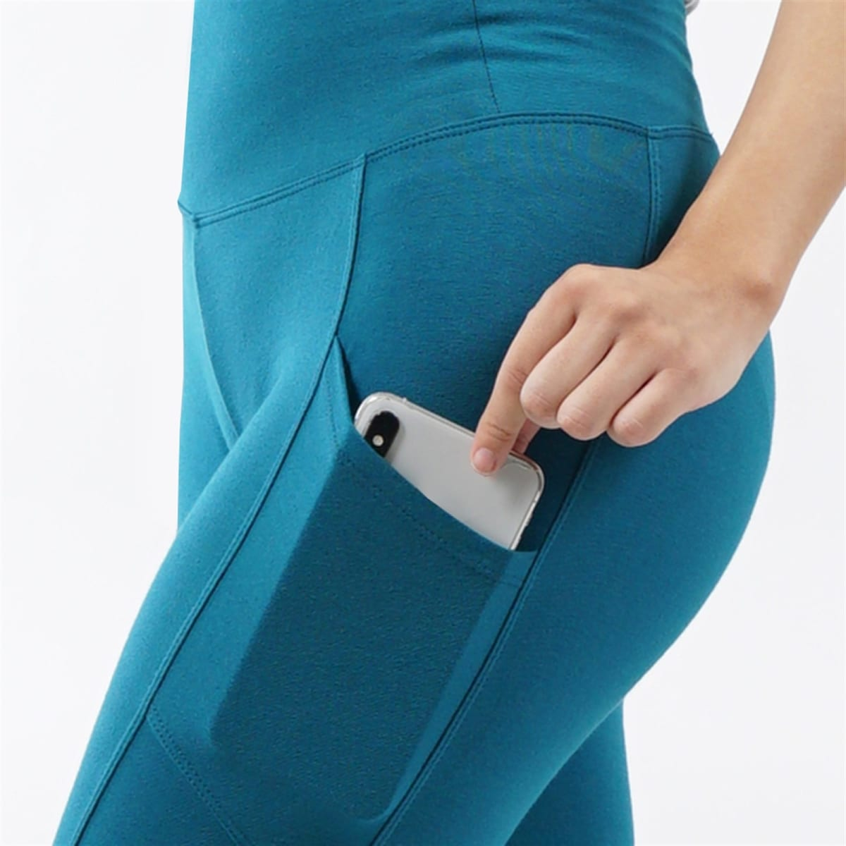 Tummy Control Side Pocket Leggings