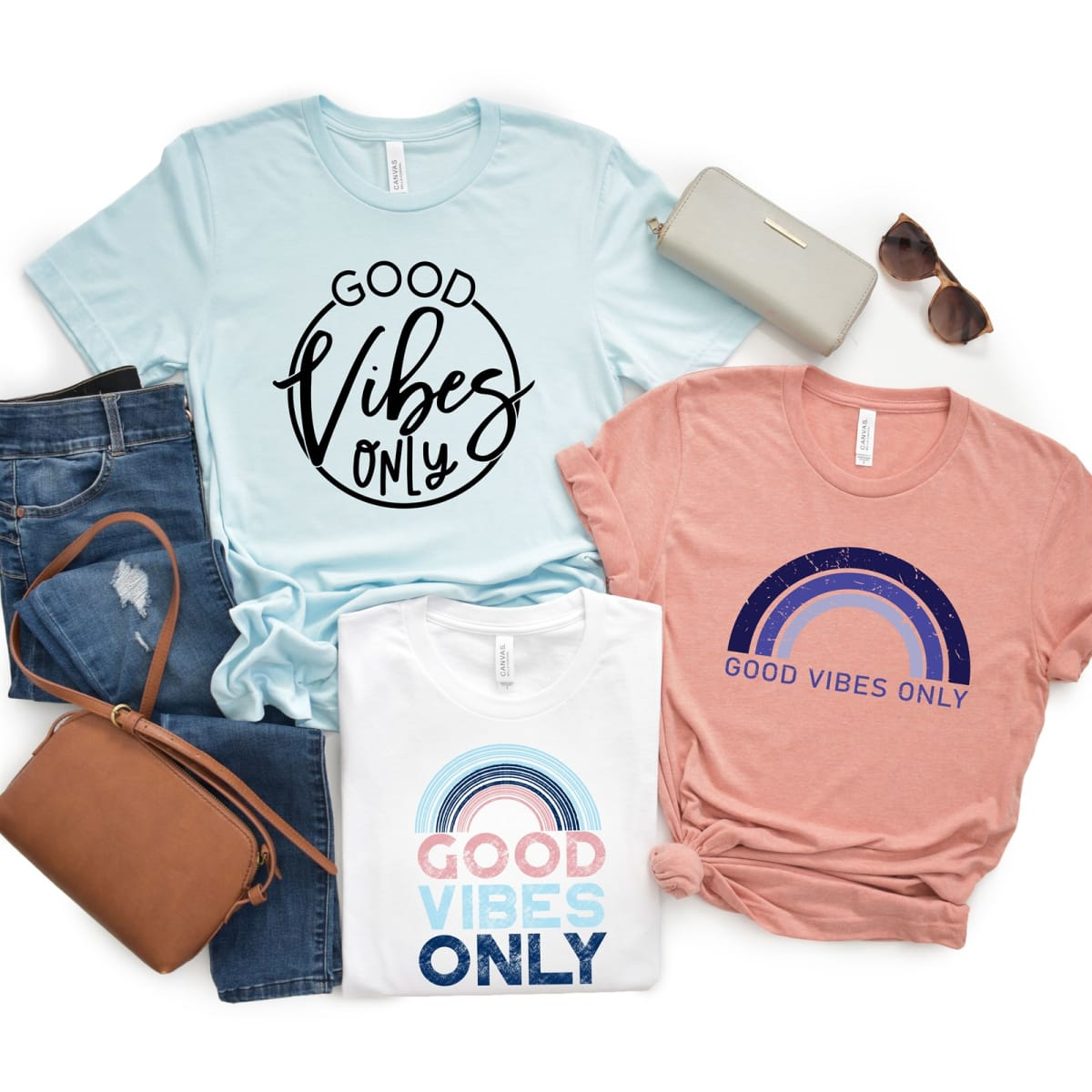 Good Vibes Only Tees