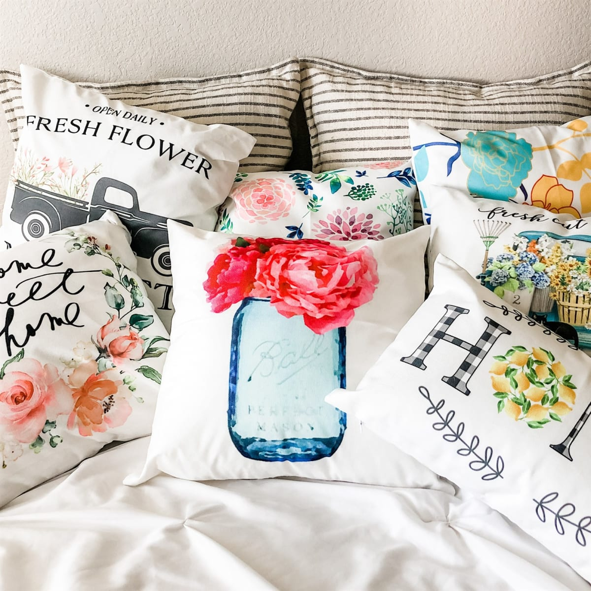 Spring Pillow Covers | 8 Options