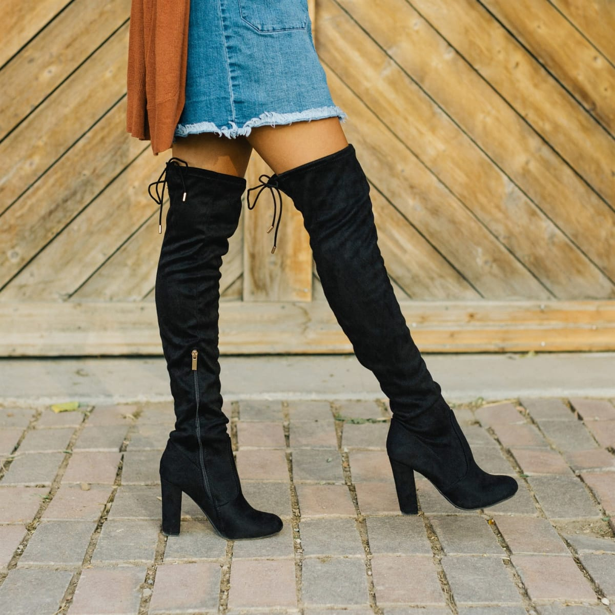 Slimming Over the Knee Boots | Wide Calf Options
