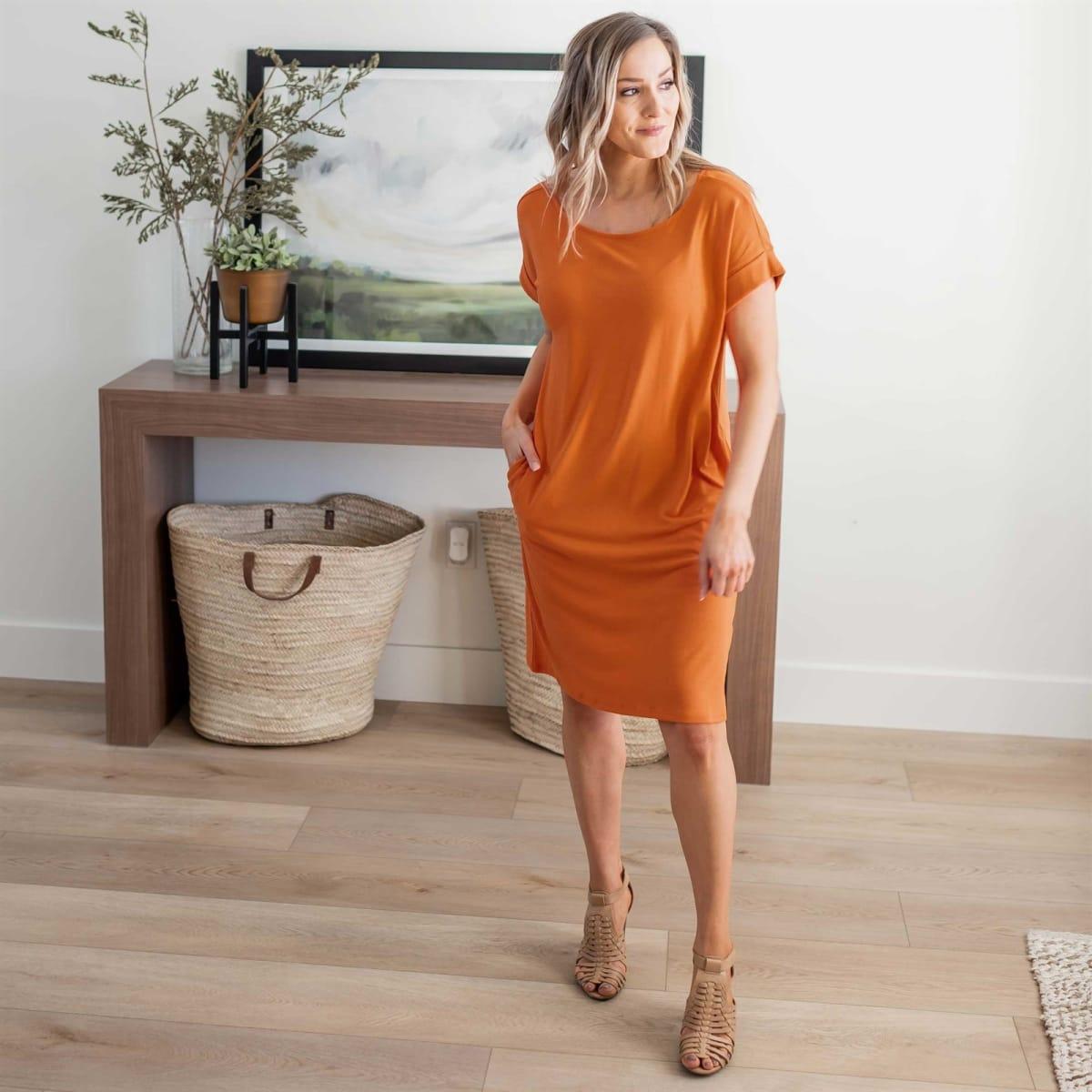 Perfect Tee Dress   S-XL