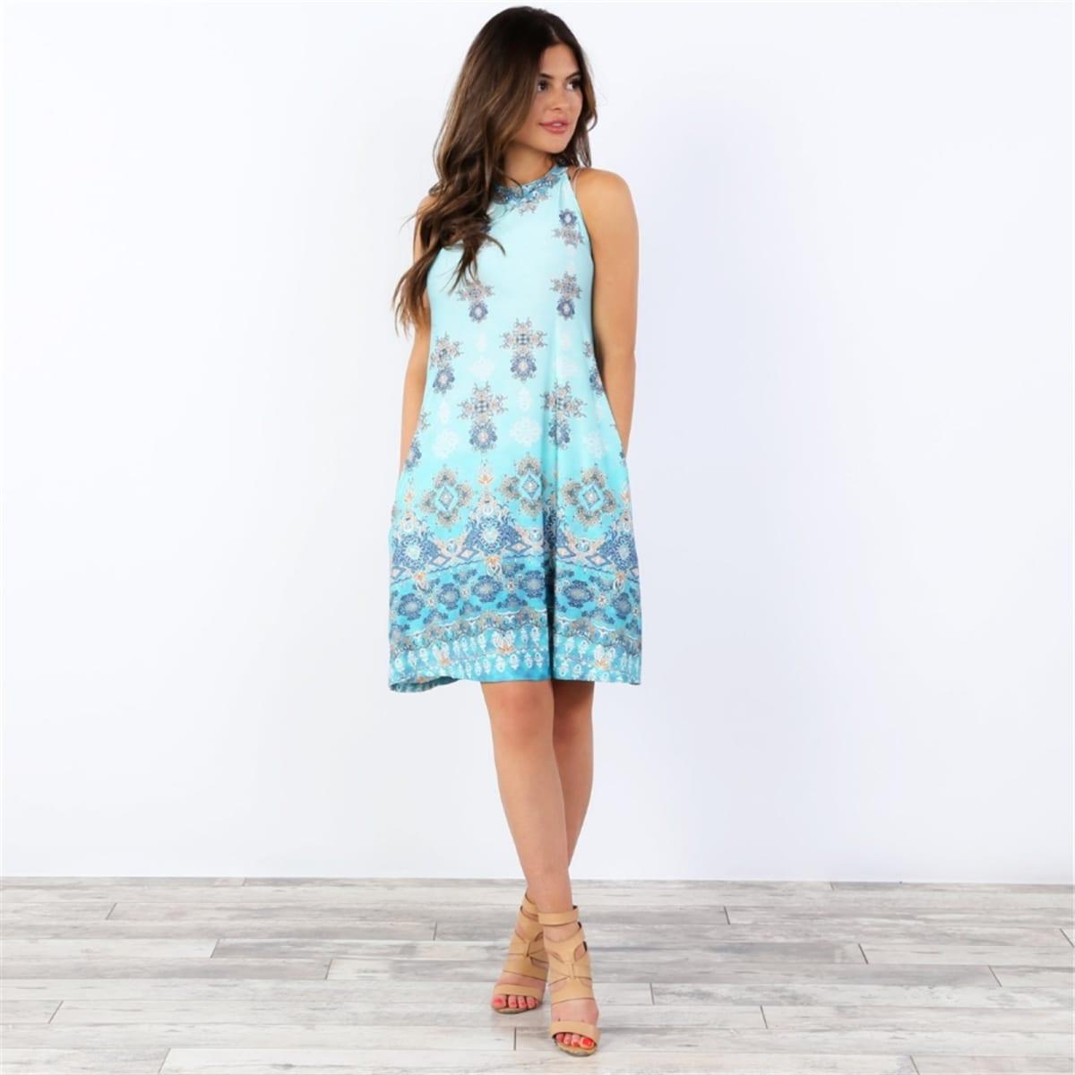 Moroccan Print Dresses
