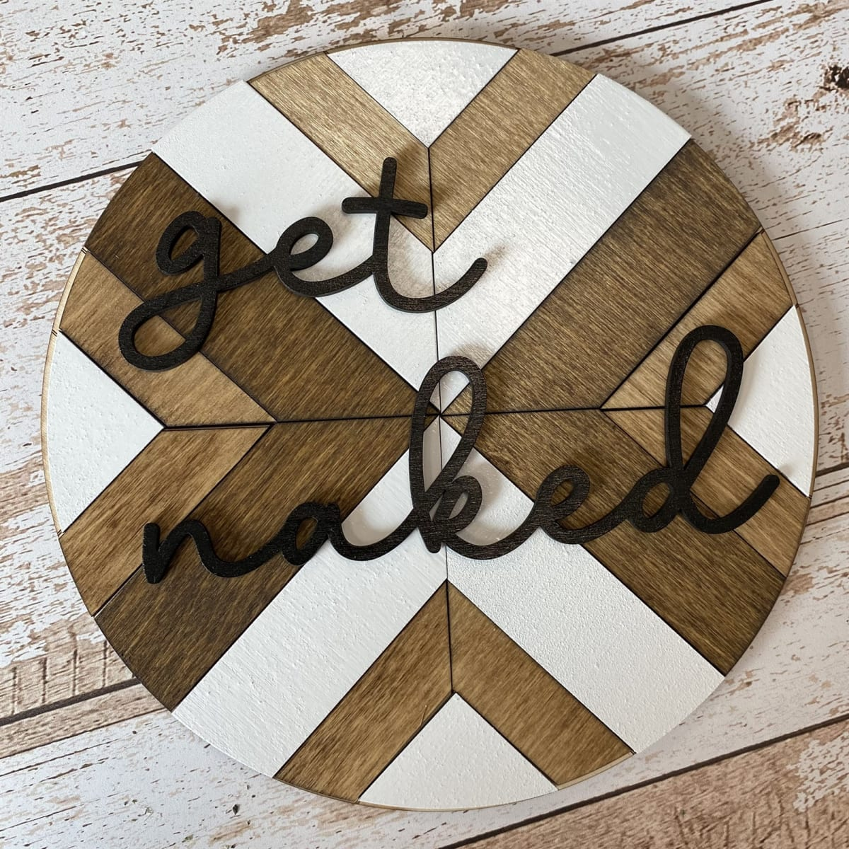 Personalized Barn Round Home Decor