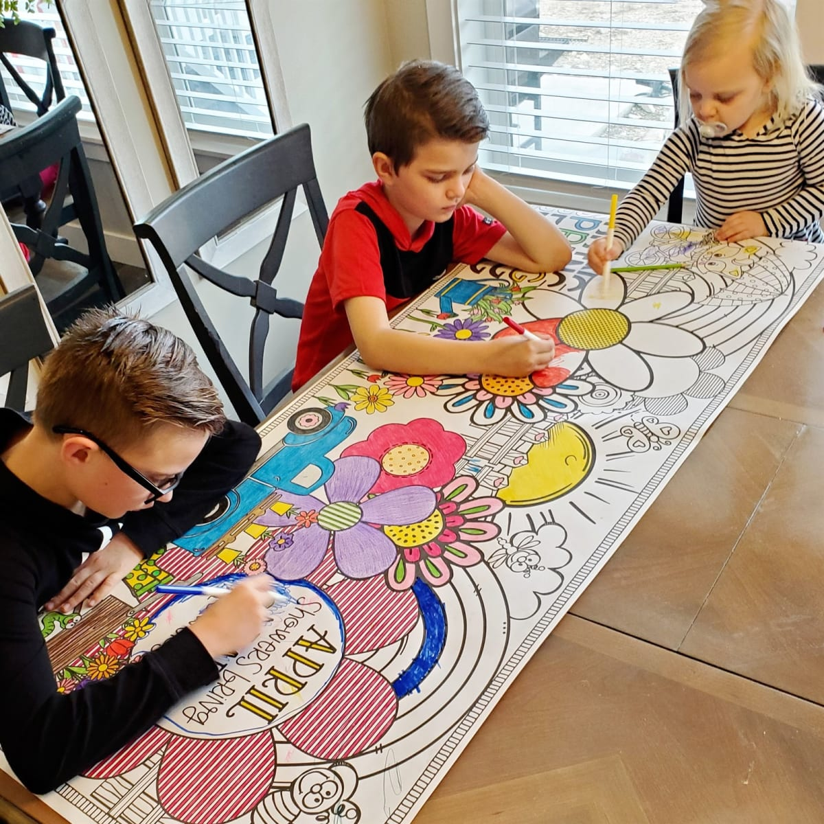 Giant Tabletop Coloring Sheet