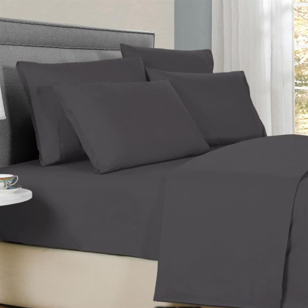 Bamboo Solid Sheet Sets | 1800 Count