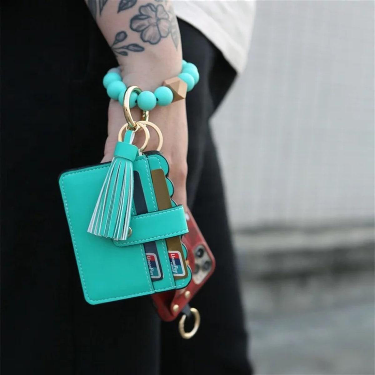 key ring wallet