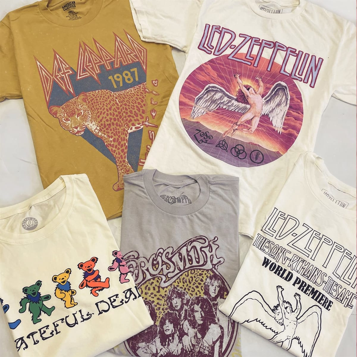 Concert Collection Tees