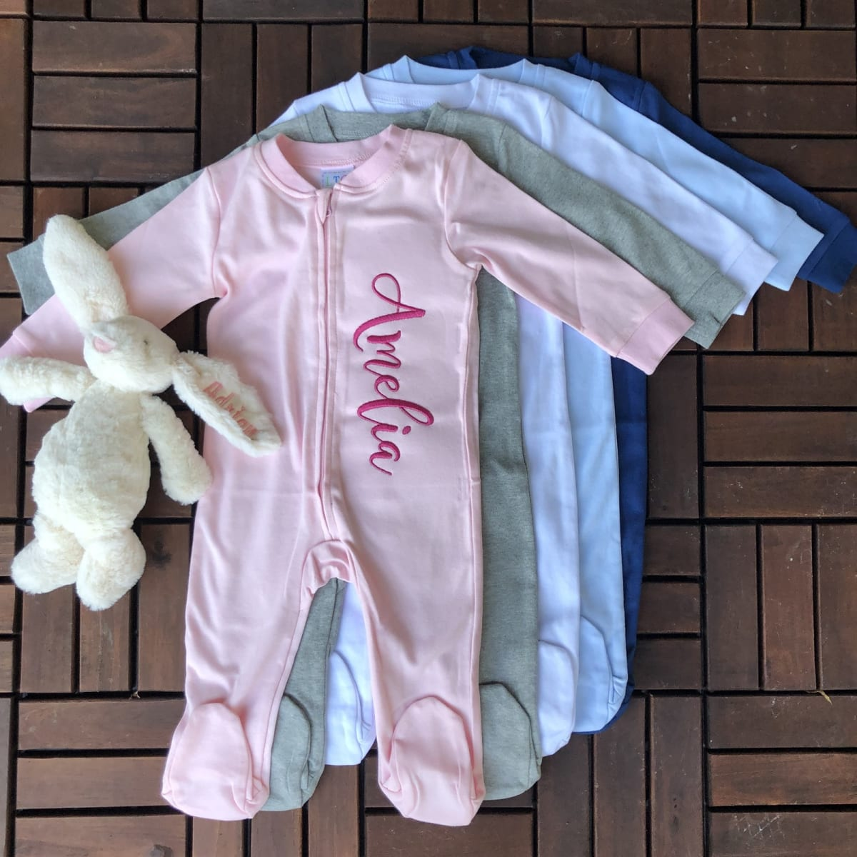 Personalized Footed PJs! .99 (REG .00) + Free Shipping at Jane!