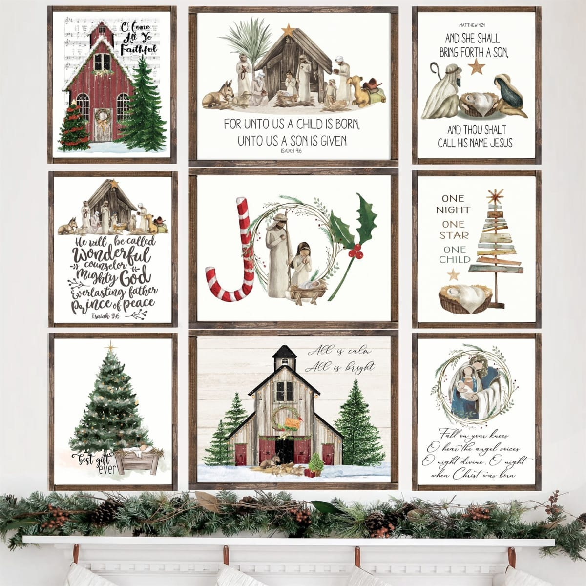 Lg. True Story Christmas Prints