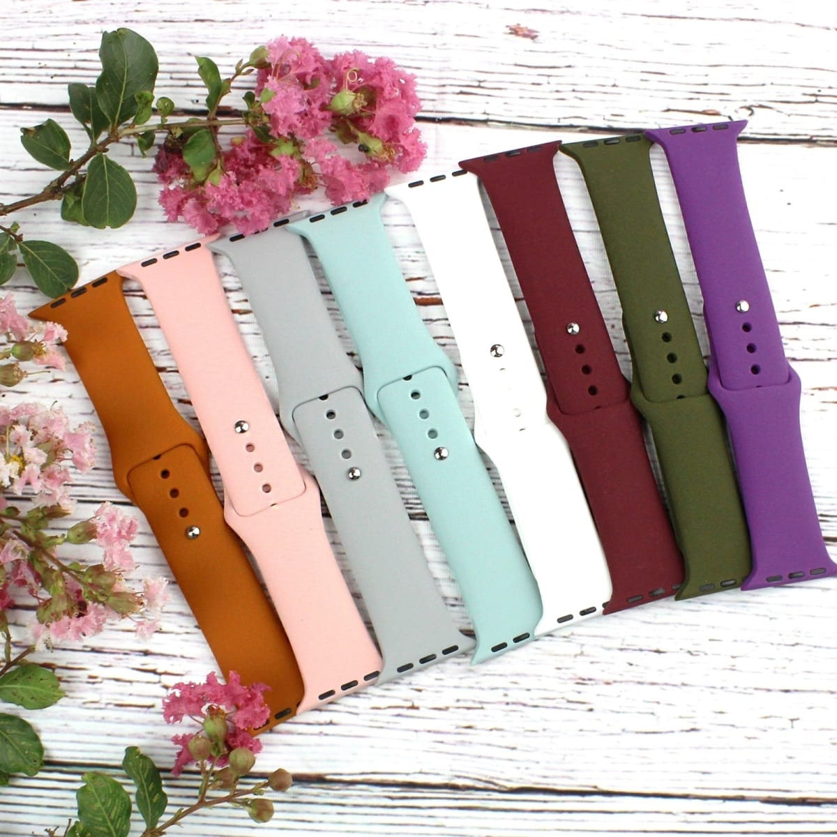 .99 Silicone Apple Watch Bands   5 Pack + Free shipping at Jane!