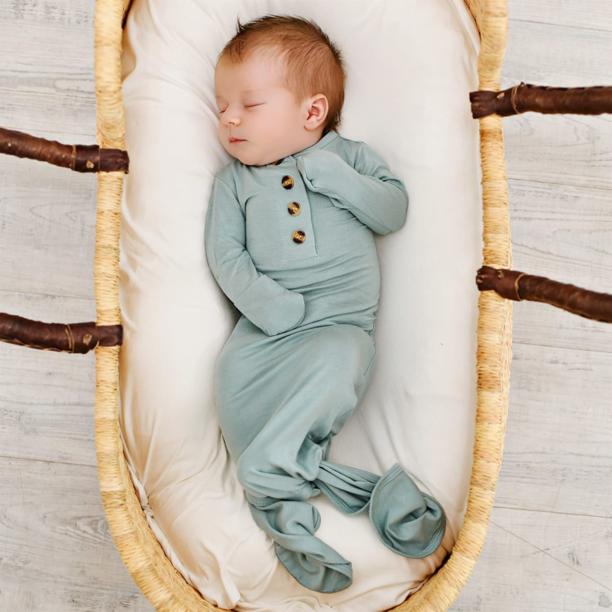 Knotted Baby Gown! .99 (REG .99) + Free Shipping at Jane!
