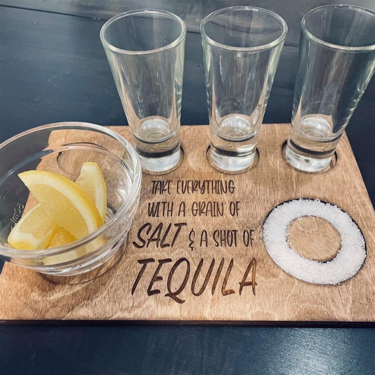Salt & Tequila Shot Tray! .99 (REG .99) + Free Shipping at Jane!