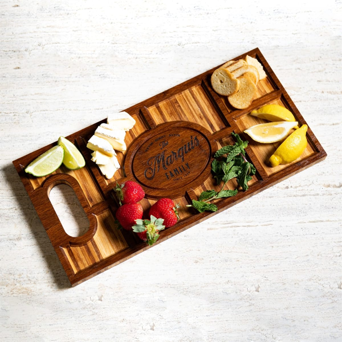 Personalized Espresso Charcuterie Plank! .86 (REG 4.76) + Free Shipping at Jane!