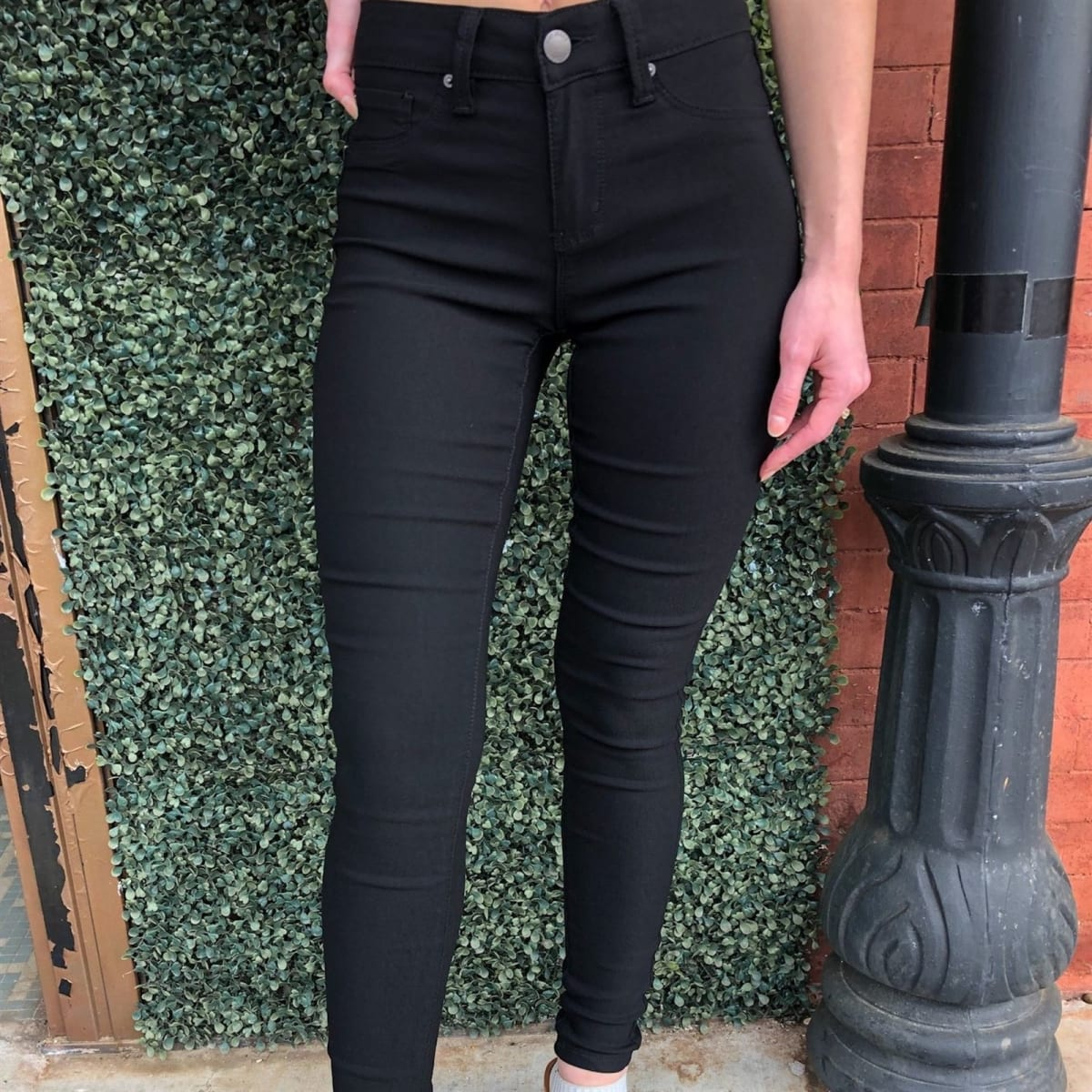 .99 Perfect Stretch Uniform Jeggings   S-2X at Jane!