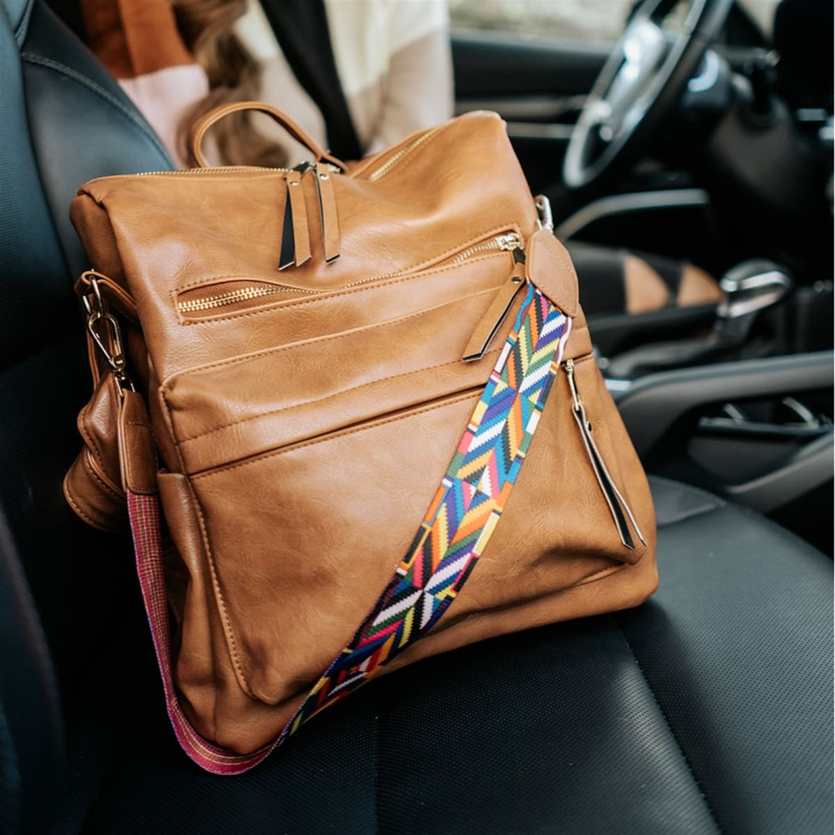 .99 Essential Convertible Bag + Colorful Strap + Free shipping at Jane!