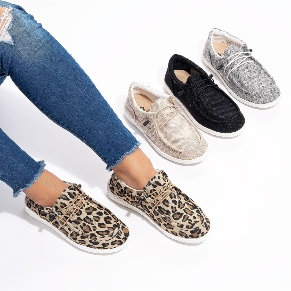 .99 Easy Slip On Sneakers + Free shipping at Jane!